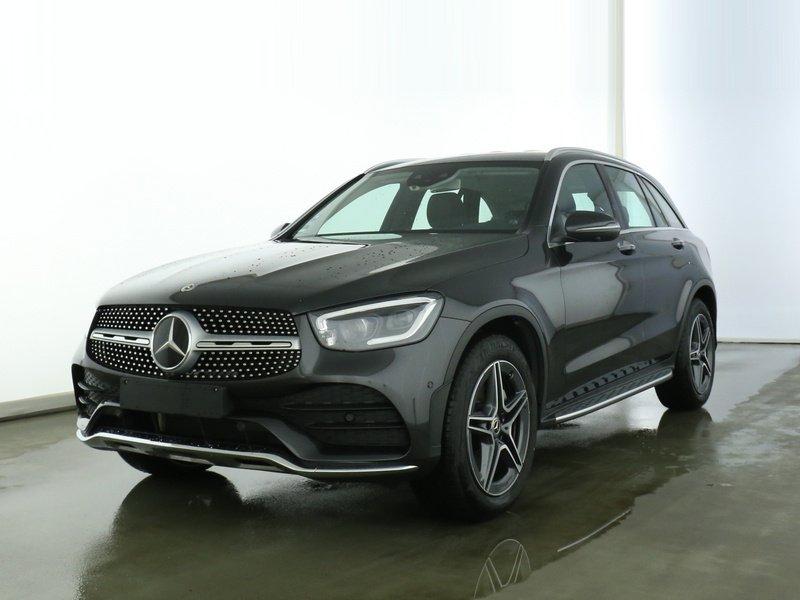 Mercedes-Benz GLC 220d 4M AMG+DISTR+STDHZ+BURMESTER+MEMORY+360, Jahr 2019, Diesel