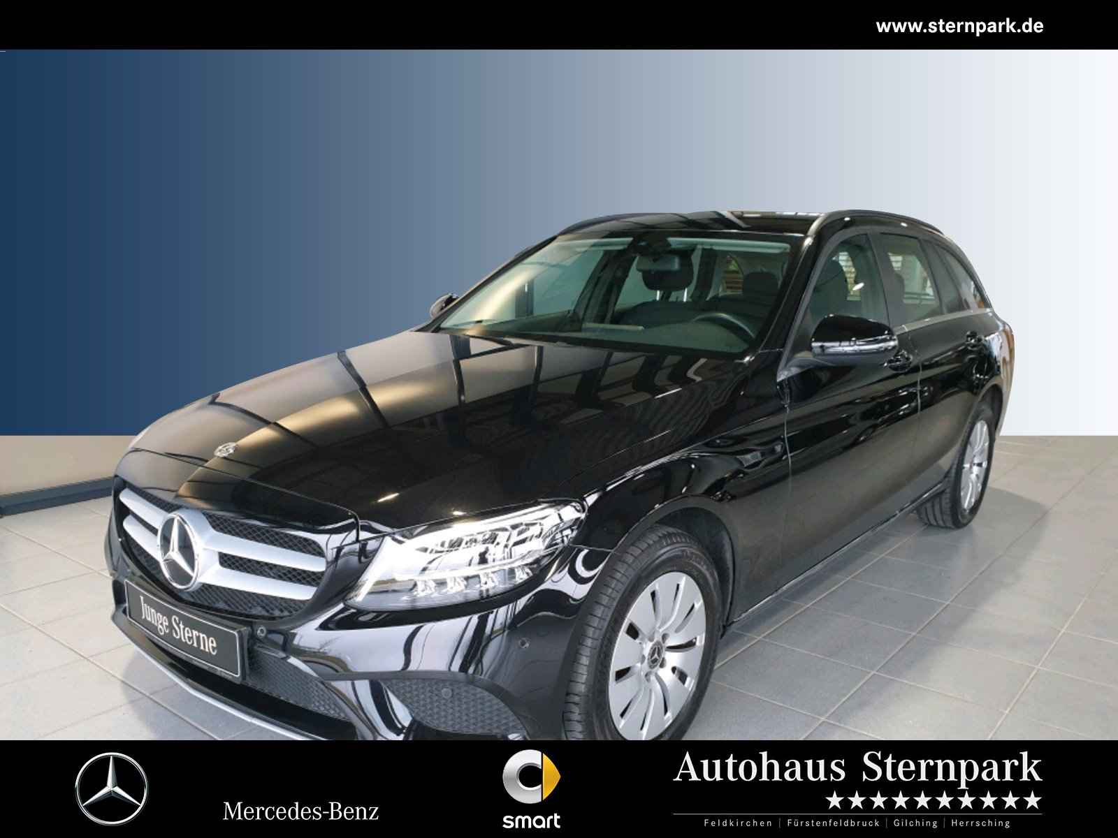 Mercedes-Benz C 200 d T Navi+AHK+LED+Kamera+Apple+Multi-Media, Jahr 2019, Diesel