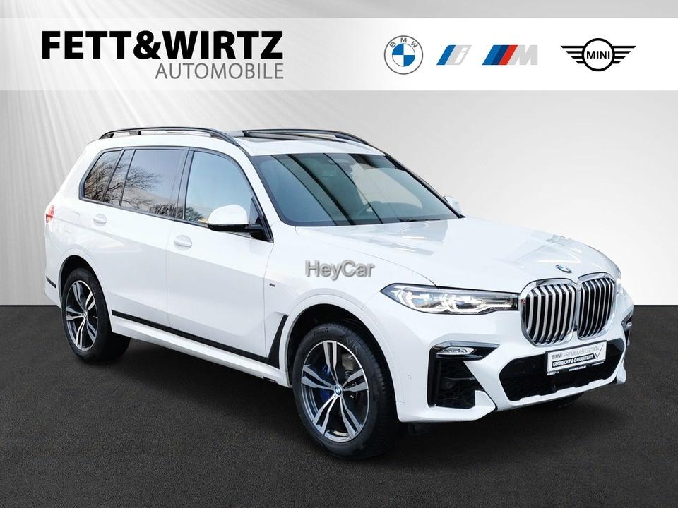 BMW X7 xDrive30d M Sport 7-Sitzer HUD NightVis., Jahr 2019, Diesel