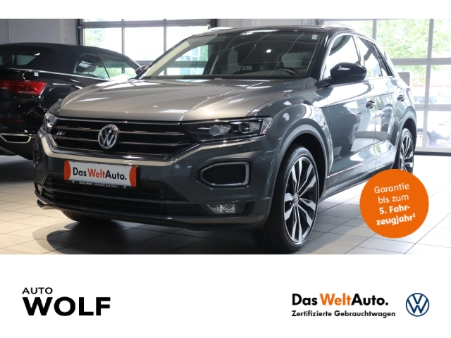 Volkswagen T-Roc IQ.DRIVE R-Line 1.5 TSI ACT 4Motion EU6d-T LED Navi Keyless Kurvenlicht Parklenkass., Jahr 2019, Benzin