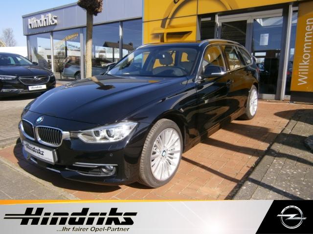 BMW 335 Touring 3.0d xDrive Leder Navi Bi-Xenon Rückfahrkamera el. Heckklappe Alu Keyless, Jahr 2015, Diesel