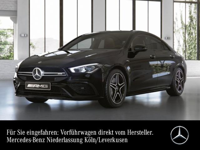Mercedes-Benz CLA 35 AMG Cp. 4M AMG Navi Premium LED Kamera PTS, Jahr 2020, petrol