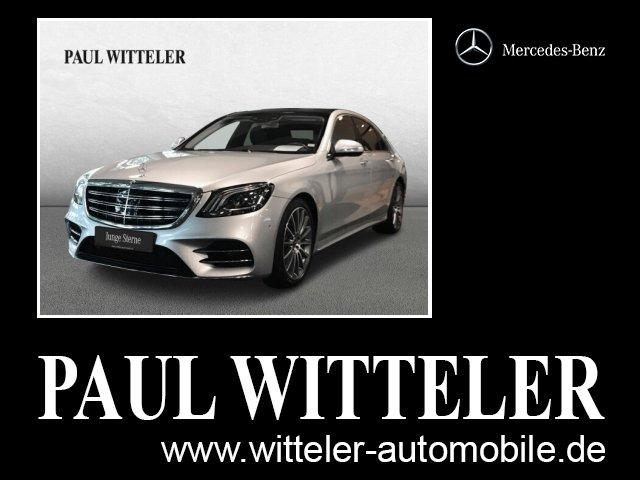 Mercedes-Benz S 560 4MATIC Limousine lang AMG/Comand/Multibeam/360, Jahr 2018, Benzin