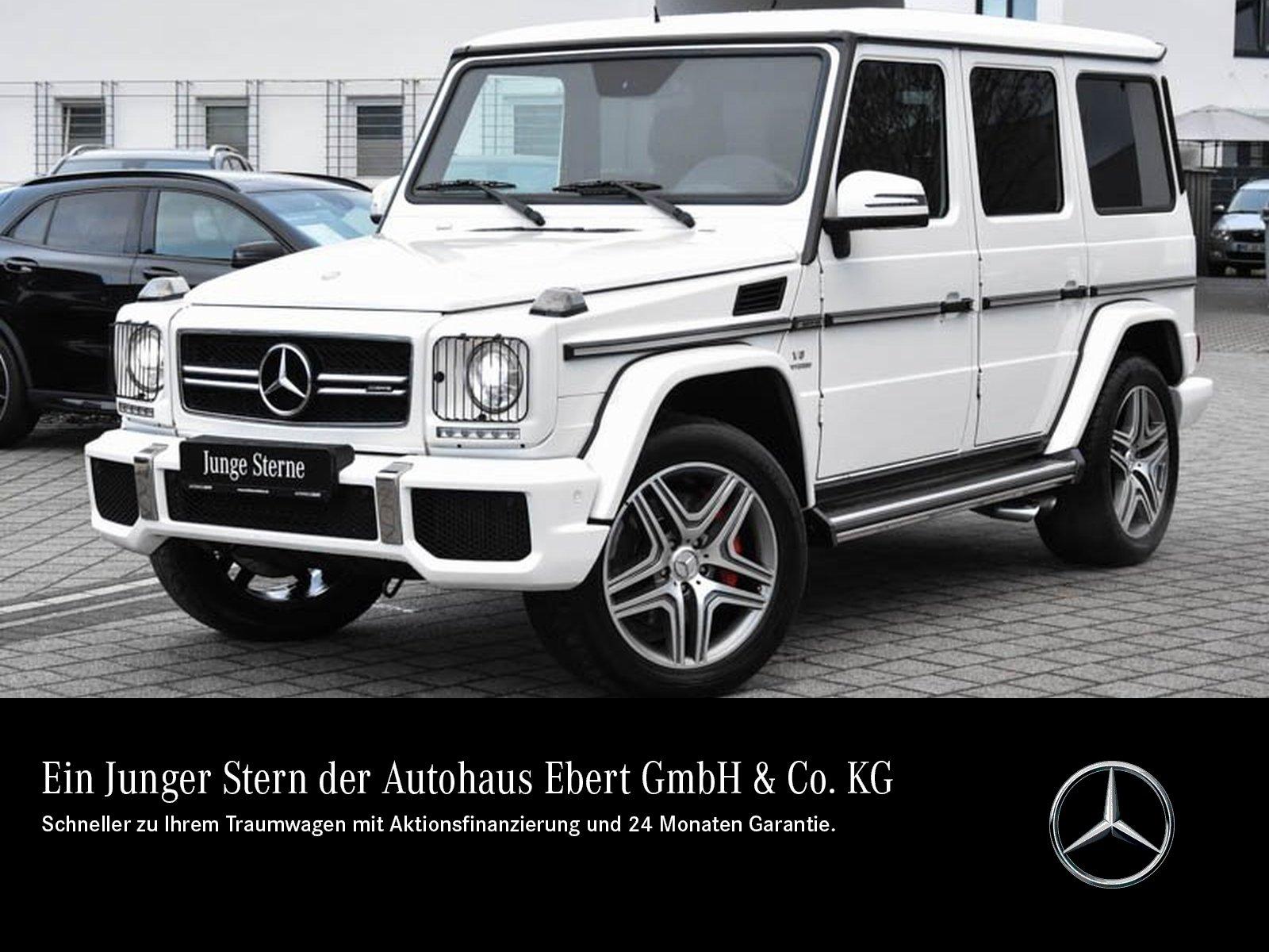 Mercedes-Benz G 63 AMG COMAND+STDHZG+BI-XENON+ESHD+KAMERA, Jahr 2016, Benzin