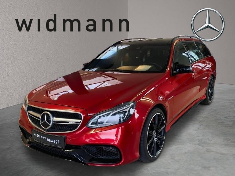 Mercedes-Benz E 63 AMG S 4M T *Panorama*Sitzklima*Comand*Distr, Jahr 2016, Benzin
