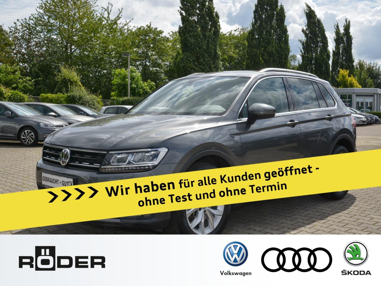 Volkswagen Tiguan Highline 2.0 TSI DSG 4Motion Navi LED DAB, Jahr 2019, Benzin