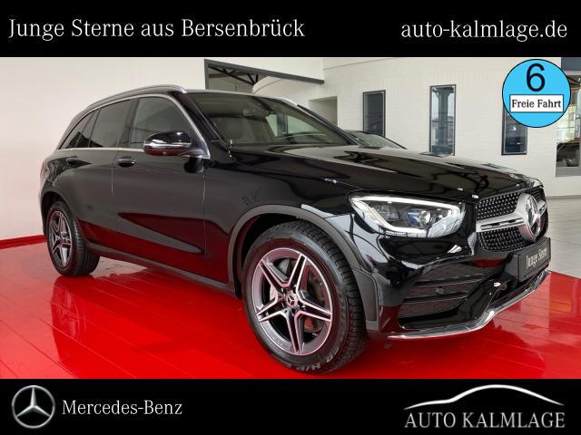 Mercedes-Benz GLC 400 d 4M AMG-Line+Distronic+AHK+Pano+Sound, Jahr 2020, Diesel