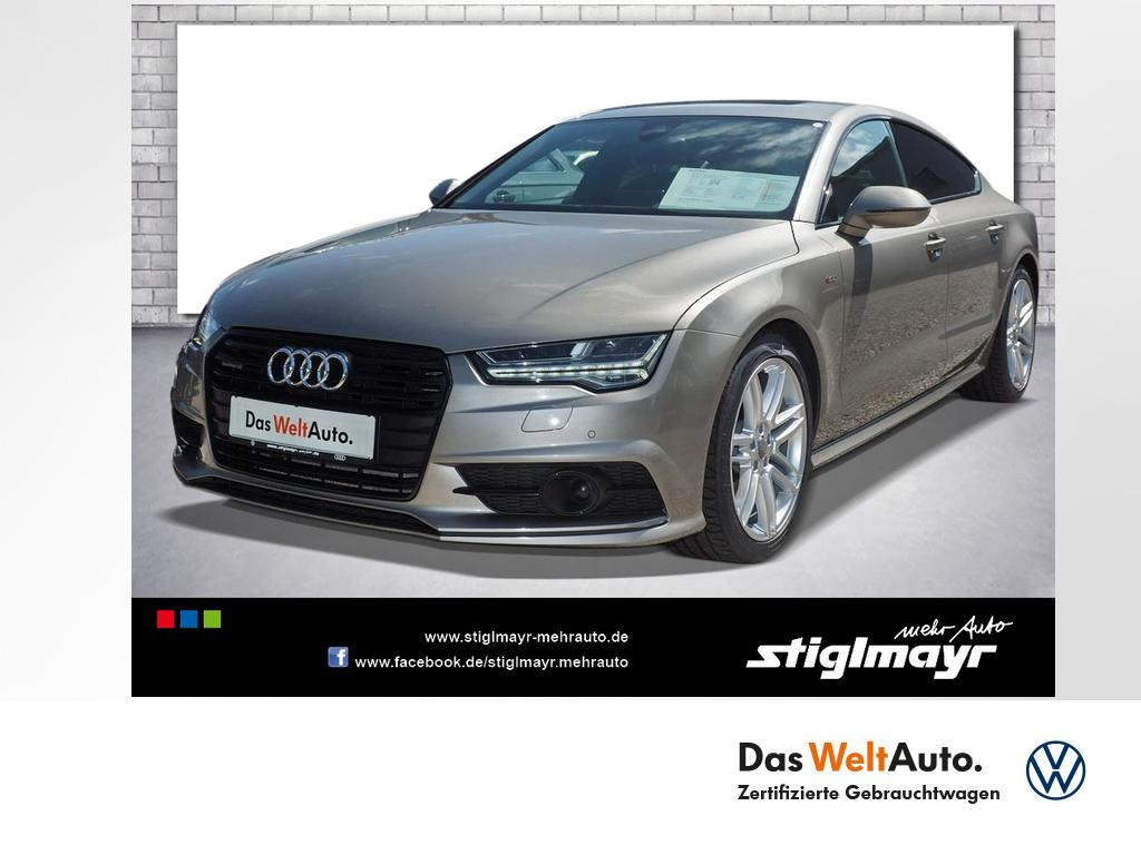 Audi A7 Sportback 3.0 TDI quattro +S-LINE+UPE 88.300, Jahr 2016, Diesel