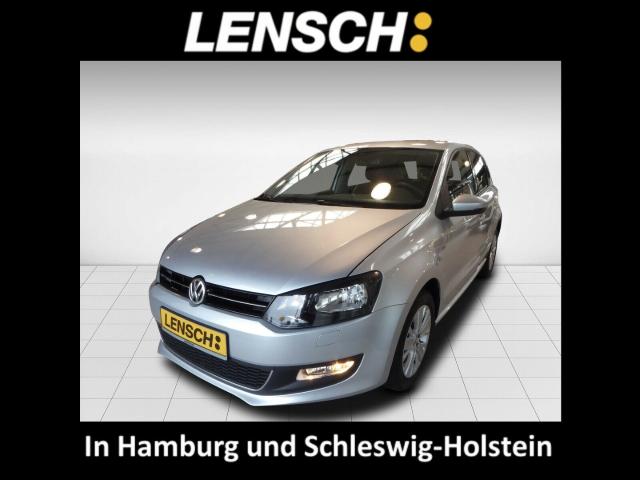 Volkswagen Polo V Life 1.2 5Türer Klimaautom SHZ Temp PDC CD AUX MP3 ESP Regensensor, Jahr 2013, Benzin