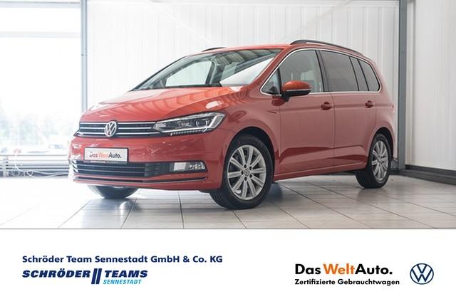 Volkswagen Touran 2.0 TDI DSG Highline LED,Navi-Pro,Park-Assist,Kamera,Telefon, Jahr 2016, Diesel