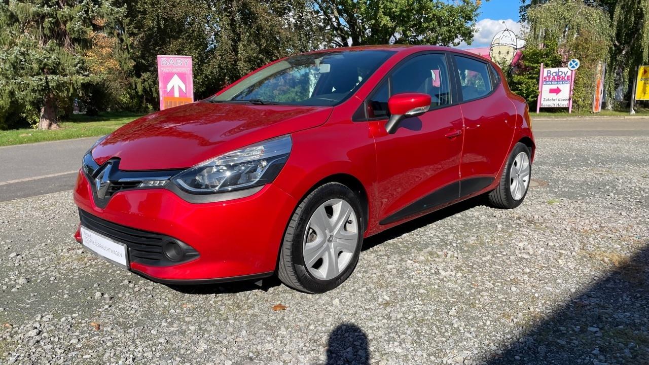 Renault Clio Dynamique 1.2 16V NAVI+Tempomat+WKR+BLT+UVM, Jahr 2014, Benzin