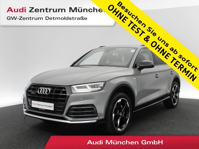 "Audi Q5 2.0 TDI qu. Sport S line black 20"" Virtual Assistenz LED Navi R-Kamera Leder S tronic, Jahr 2018, diesel"
