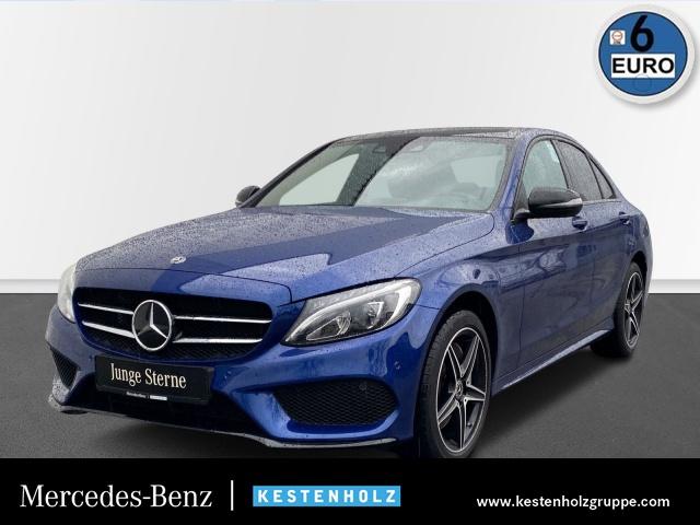 Mercedes-Benz C 400 C 4M Edition C AMG Stdhzg Burmester COMAND, Jahr 2017, Benzin