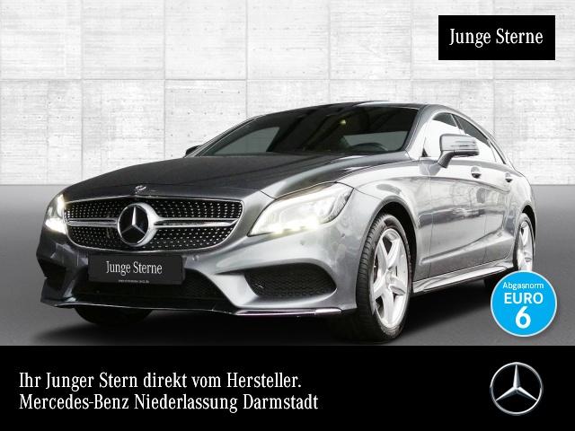 Mercedes-Benz CLS 500 Cp. 4M AMG 360° Airmat Multibeam Distr, Jahr 2015, petrol