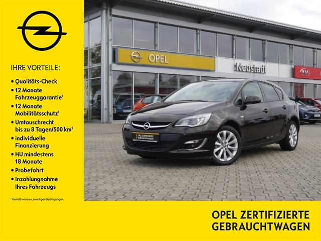 Opel Astra Active 1.4 Turbo Bi-Xenon, Anhängerk., Len, Jahr 2013, Benzin