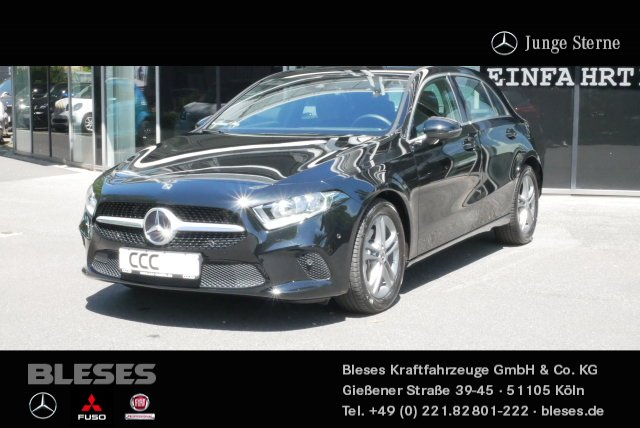 Mercedes-Benz A 200 Kompaktlimousine Progressive +Navi+Klima+, Jahr 2019, Benzin