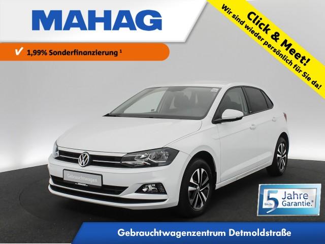 Volkswagen Polo 1.0 TSI UNITED Navi ActiveInfo AppConnect FrontAssist 6-Gang, Jahr 2020, Benzin