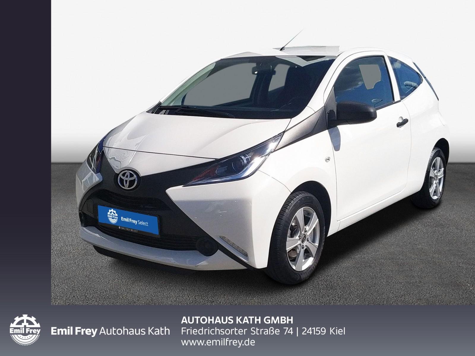 """Toyota Aygo X """"Klima,Alu,Radio/CD, Winterräder zusätzlich"""", Jahr 2018, petrol"""