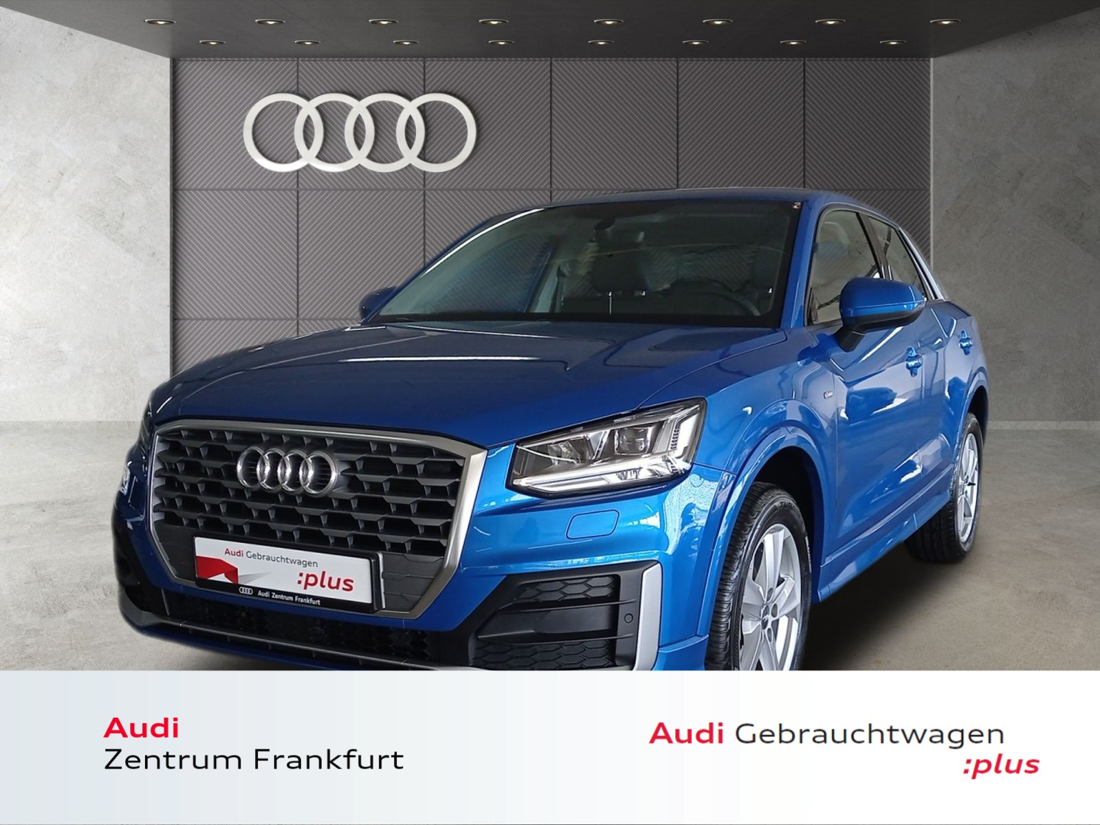 Audi Q2 30 TFSI S line LED Navi Tempomat PDC DAB, Jahr 2020, Benzin