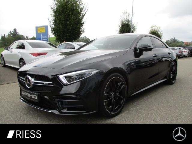 Mercedes-Benz CLS 53 AMG DISTR+SD+KEYLESS+HEAD UP+MULTIB+BURM+, Jahr 2021, Benzin