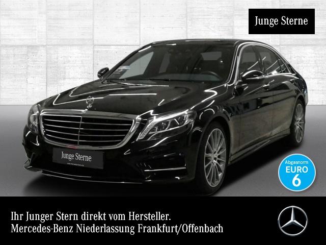 Mercedes-Benz S 400 L 4M AMG Fahrass Fondent Airmat Stdhzg Pano, Jahr 2016, petrol