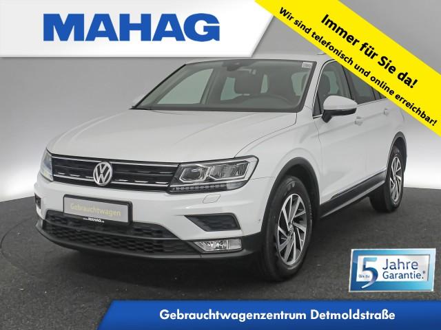 Volkswagen Tiguan 2.0 TSI 4mot. SOUND Navi LED AHK FahrerAssist 17Zoll DSG, Jahr 2017, Benzin