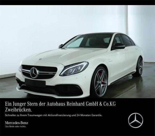 Mercedes-Benz C 63 S Pano+Night+FAP+PerfAbGas+360+KeinOPF+++, Jahr 2019, Benzin