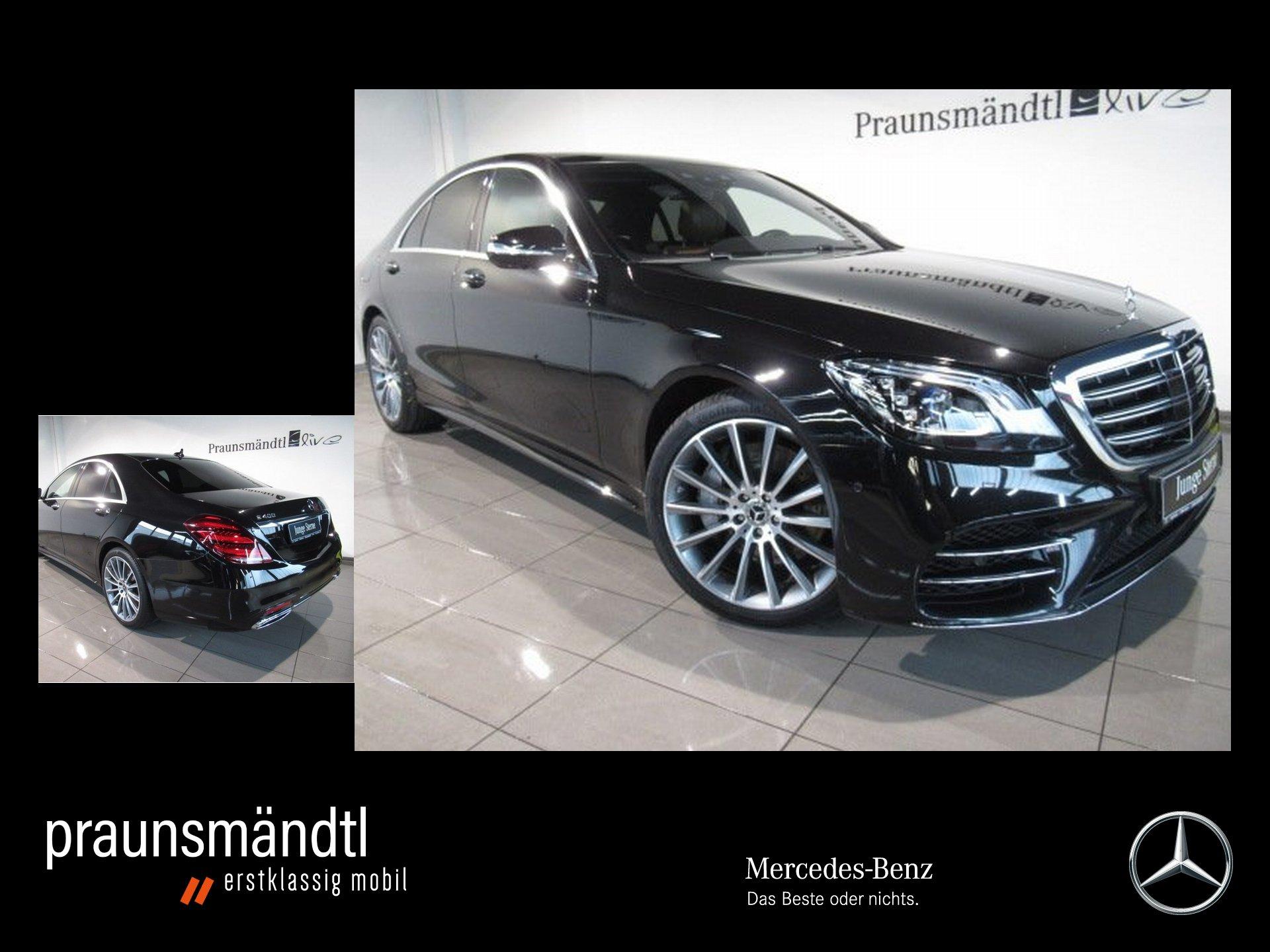 Mercedes-Benz S 400 d 4M AMG Pano/LED/Distro/Standhzg/360°/20, Jahr 2017, Diesel