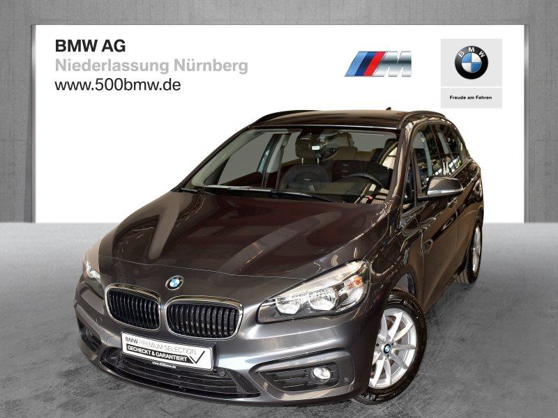 BMW 218d Active Tourer EURO6 Advantage Navi Tempomat Klimaaut., Jahr 2017, Diesel