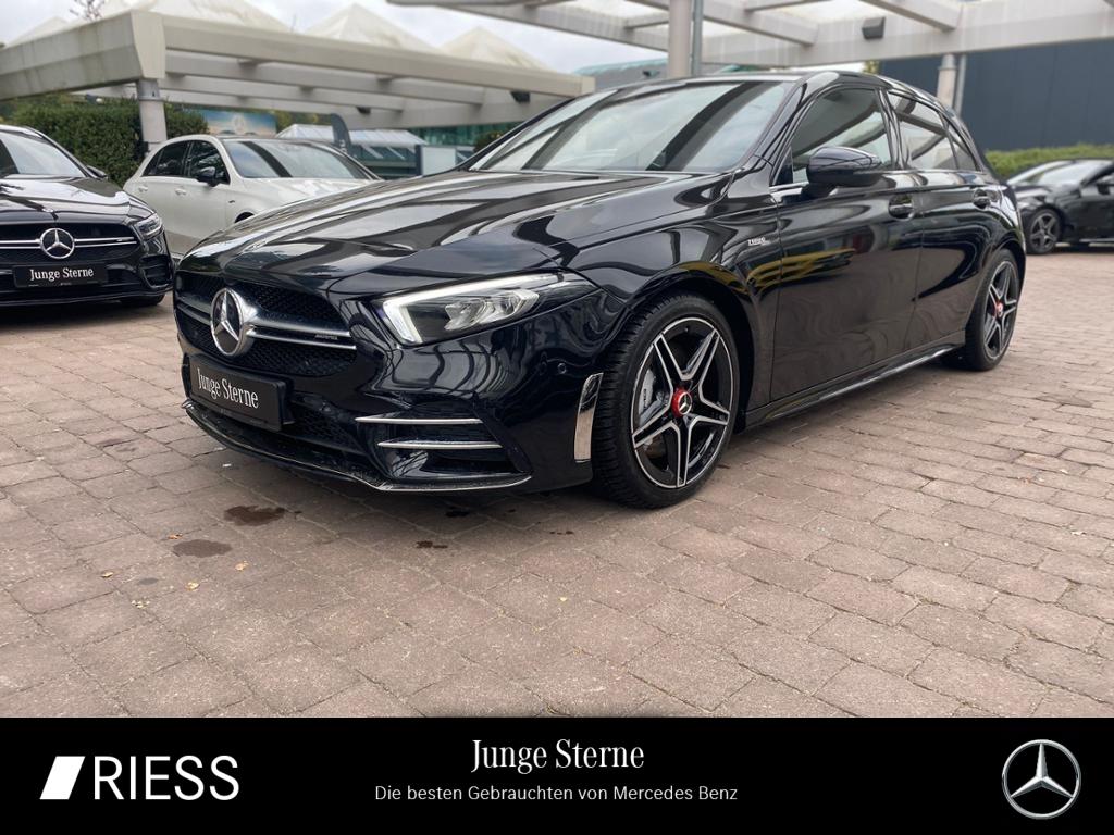 Mercedes-Benz A 35 AMG 4M Night Navi LED Pano Kamera Burmester, Jahr 2019, Benzin
