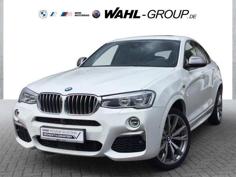 BMW X4 M40i M Sportpaket Head-Up HK HiFi Leder LED, Jahr 2018, Benzin