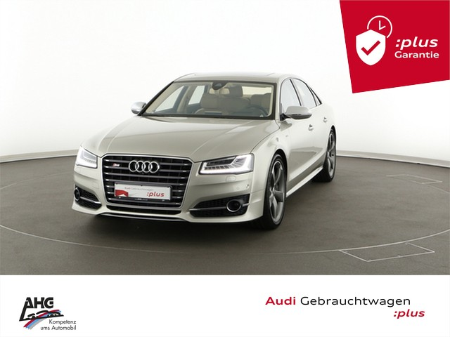 Audi S8 Limousine 4.0 TFSI quattro tiptronic LED Navi Leder Standheiz GRA LM-Felge, Jahr 2016, Benzin