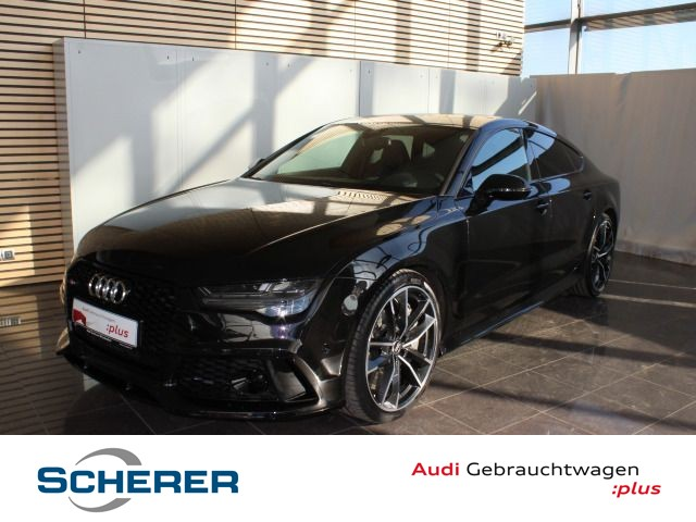 Audi RS7 4.0TFSI *605PS*LED*HuD*Bose*OptiktSchwarz*ACC*RS-Sportabgas*UPE:153t*, Jahr 2016, petrol