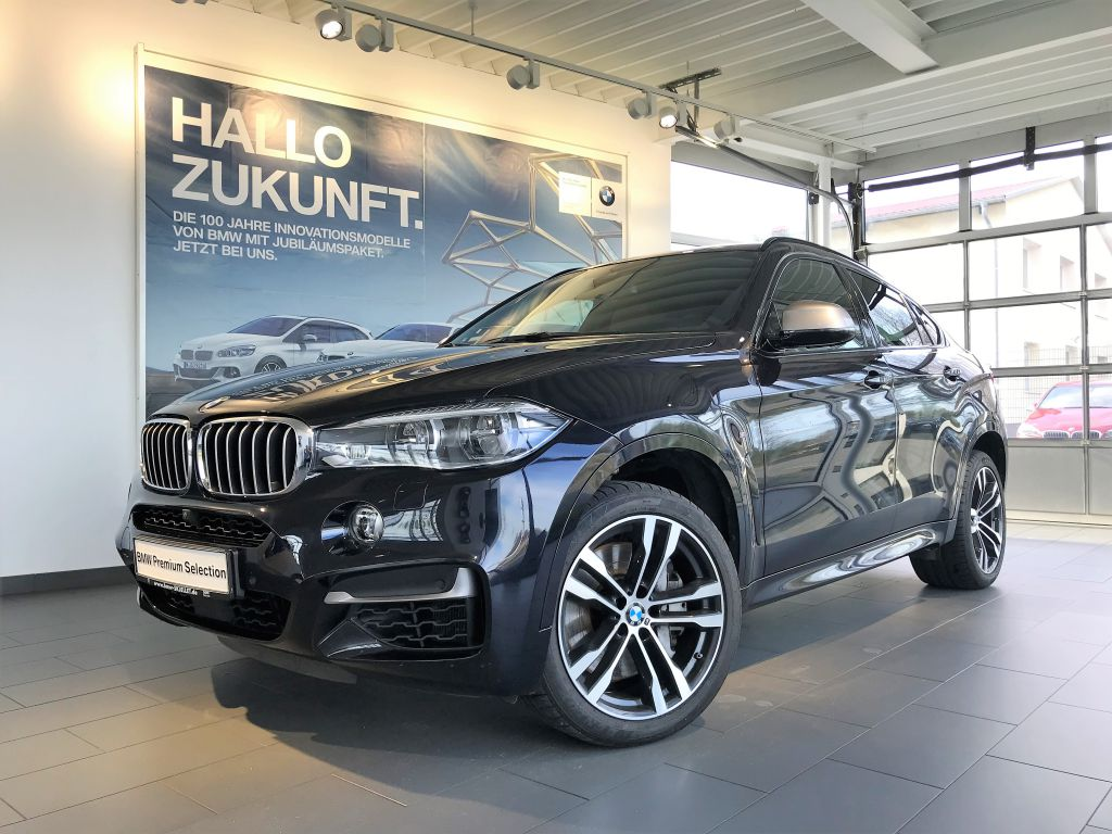 BMW X6 M50d KOM+SOFT+BELÜF+B&O+NIGHT+STOP&GO+HUD+AHK, Jahr 2016, Diesel