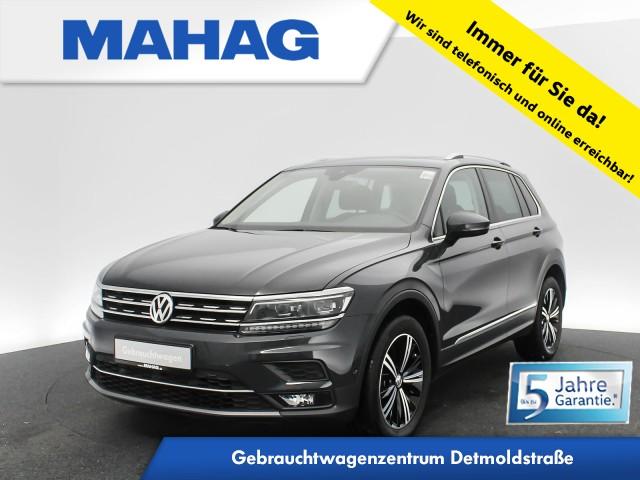 Volkswagen Tiguan 2.0 TSI 4mot. Highline HUD Navi LED Panorama 18Zoll DSG, Jahr 2017, Benzin