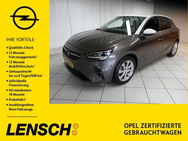 Opel Corsa F 1.2 Elegance KLIMAAUT+SITZHZ+PDC+RFK+AWR, Jahr 2019, Benzin