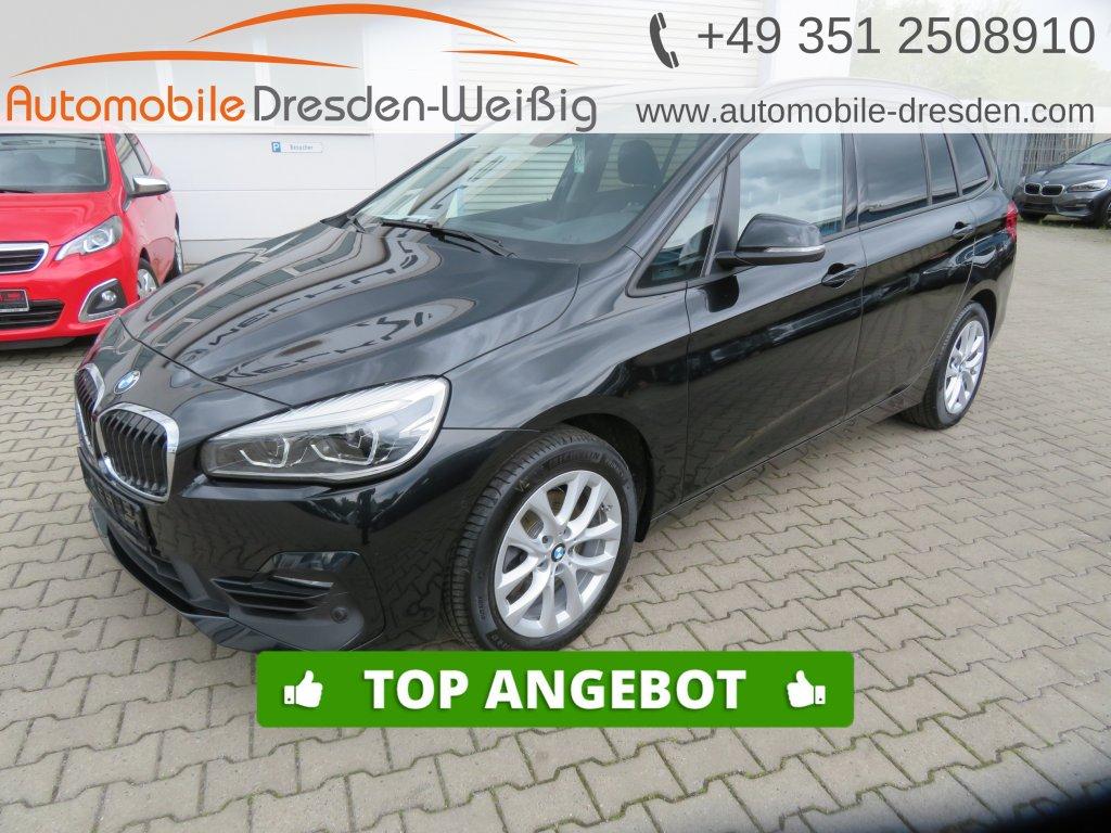 BMW 218 Gran Tourer i Sport Line*Navi*AHK*UPE44.170€, Jahr 2019, Benzin
