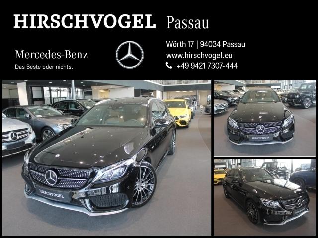 Mercedes-Benz C 450 AMG 4M Pano+DISTRON+Com+ILS+Kam+PDC+Memory, Jahr 2015, Benzin
