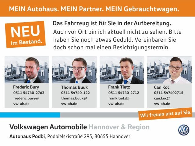 Volkswagen Tiguan 1.4 TSI Trend & Fun GRA Klima Parklenkassistent, Jahr 2016, Benzin