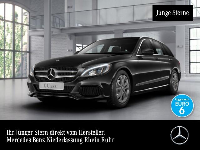 Mercedes-Benz C 180 T Avantgarde LED Navi Totwinkel PTS 9G Sitzh, Jahr 2018, Benzin