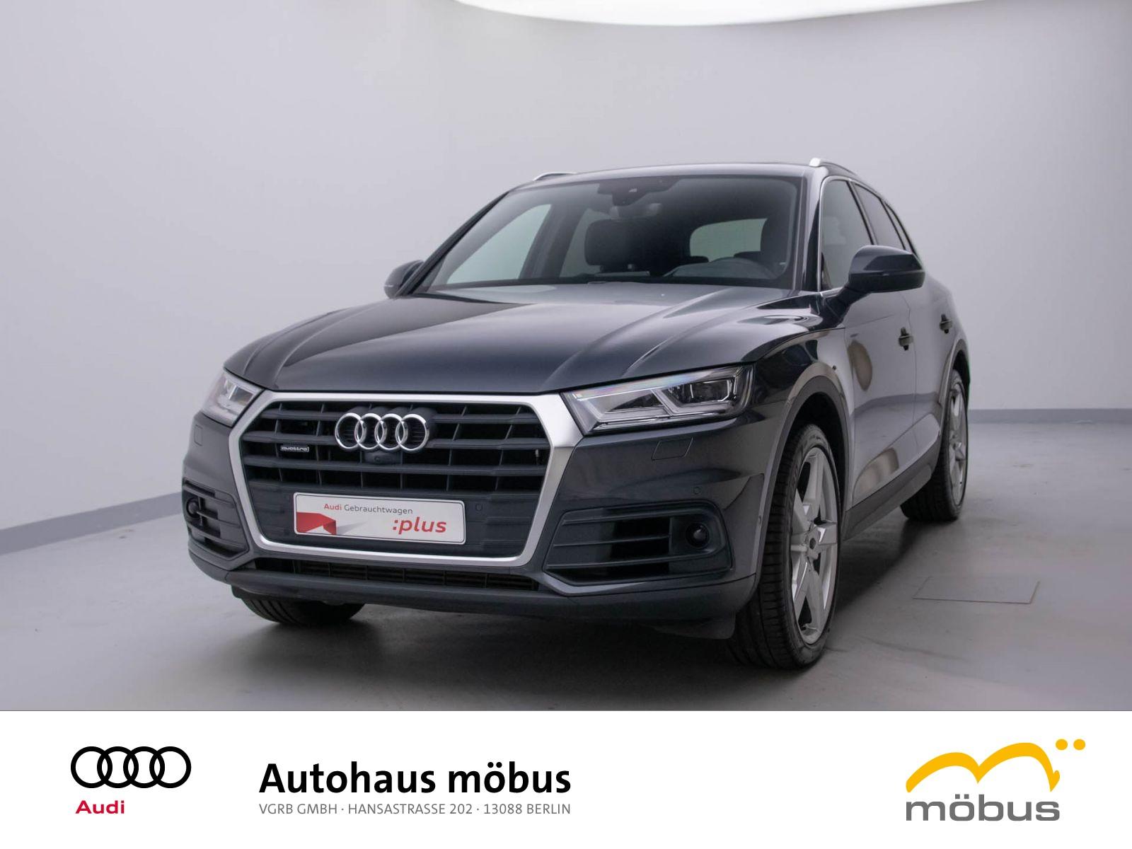 Audi Q5 basis 3.0 TDI QU*S-TRO*HEAD*LHZ*MATRIX*STHZ*, Jahr 2018, Diesel