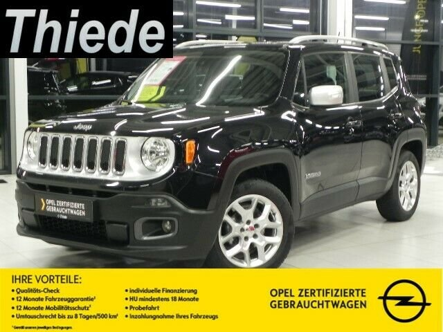 Jeep Renegade 1.4 LIMITED LEDER/SHZ/LHZ/PDC, Jahr 2014, petrol