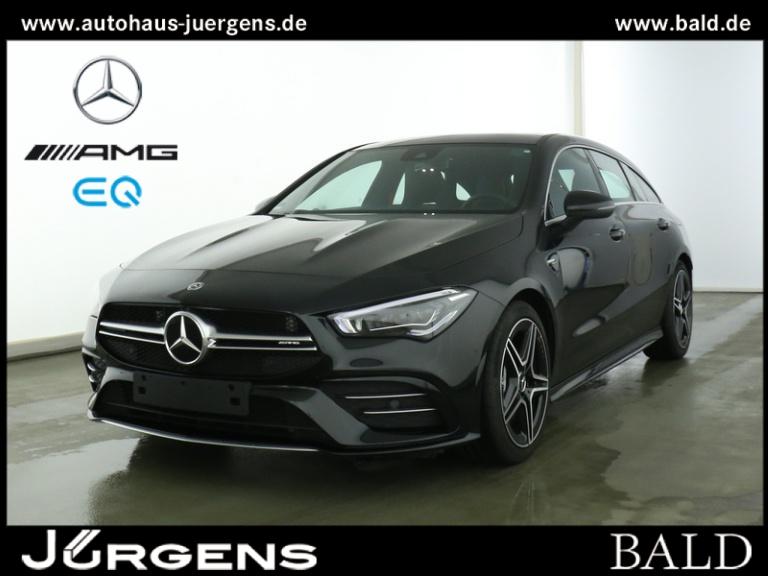 Mercedes-Benz CLA 35 AMG 4M SB Navi-Prem/ILS/Pano/Cam/SHZ/18', Jahr 2019, Benzin