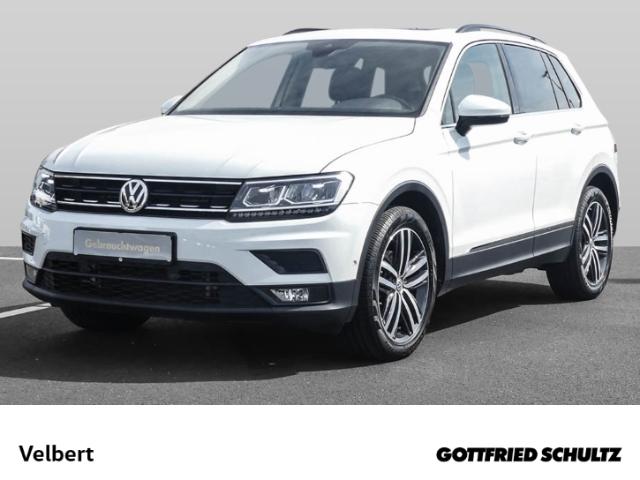 Volkswagen Tiguan 2.0 TDI DSG NAVI+LED+LEDER+PANO+KAMERA COMFORTLINE, Jahr 2017, Diesel