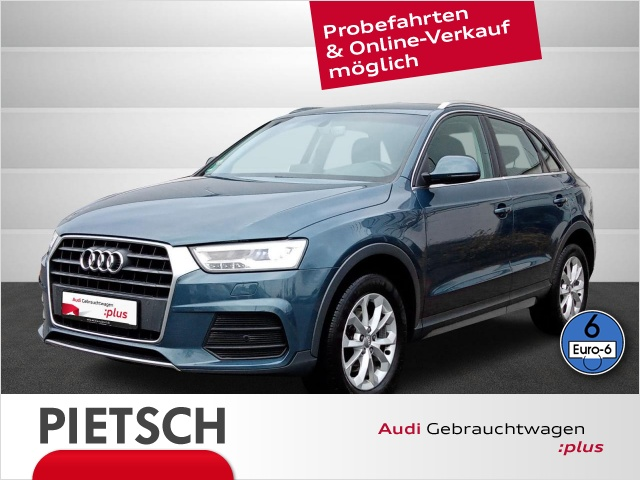 Audi Q3 2.0 TDI design - LED Navi GRA PDC Klima, Jahr 2015, Diesel