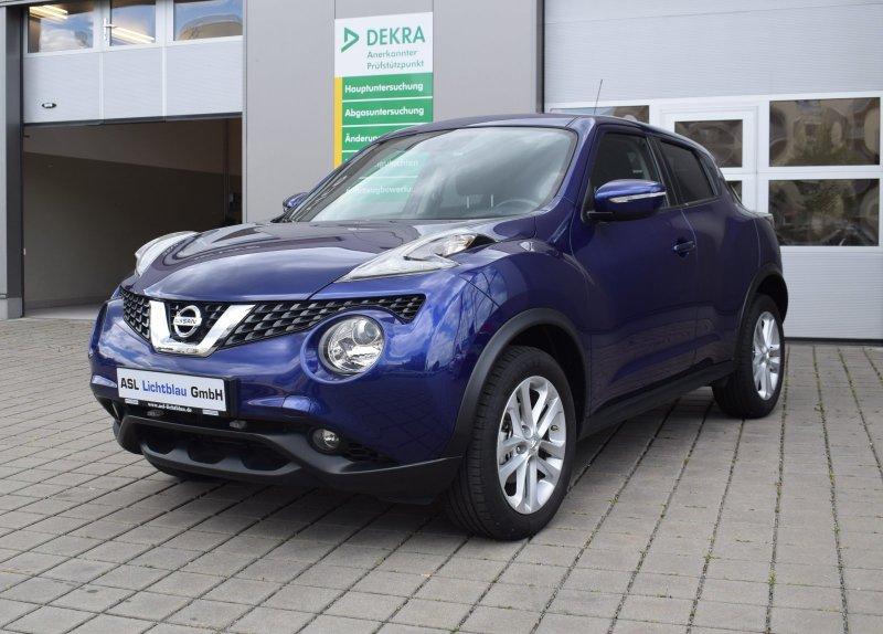 Nissan Juke DIG-T 1.2 M/T Klimaauto Navi EPH Tempomat, Jahr 2015, Benzin