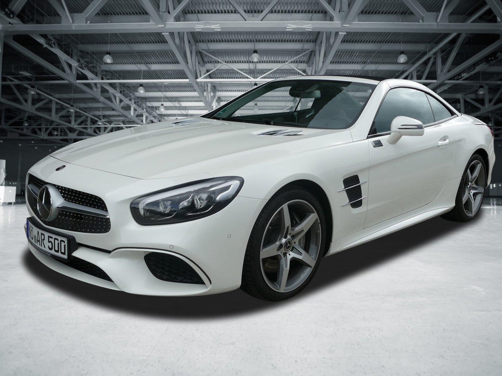 Mercedes-Benz SL 500 AMG+Airscarf+Sitzklima+ACTIVE BODY+142 T, Jahr 2018, Benzin