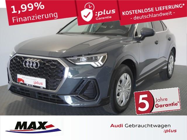 Audi Q3 Sportback 35 TFSI LED+NAVI+KAMERA+ACC+AHK+ALU, Jahr 2020, Benzin