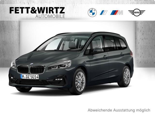 BMW 216 Gran Tourer Sport Line DA LED SHZ Sports., Jahr 2019, Benzin