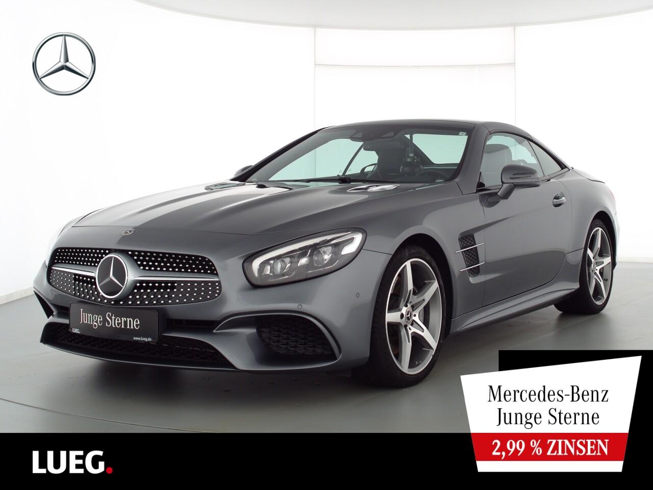 Mercedes-Benz SL 400 AMG+COM+BangO+LED-ILS+Distr+19+Sitzkl+RFK, Jahr 2018, Benzin